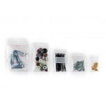 Buste Grip trasparenti WeGrip trasparente con 3 pannelli bianchi f.to 12x17 cm  cf. 1000 pz. - TGS120170