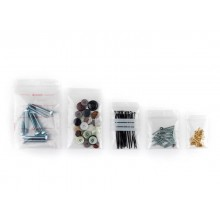 Buste Grip trasparenti WeGrip trasparente con 3 pannelli bianchi f.to 20x30 cm  cf. 1000 pz - TGS200300