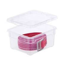 Contenitore Rotho portaoggetti Clear Box impilabile 19x16x9 cm. trasparente F707800
