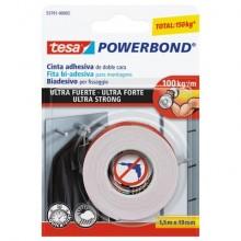 Nastro biadesivo tesa Powerbond® ULTRA STRONG 19 mm x 1,5 m bianco 55791-00002-01