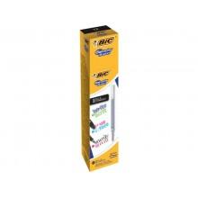 Refill per penne roller BIC Gel-ocity Illusion M 0,7 mm nero 944098 (Conf.12)
