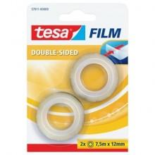 Nastri biadesivi tesa tesafilm® 12mm x 7,5m in blister trasparente 57911-00000-00