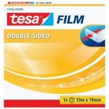 Nastri biadesivi tesa tesafilm® 19mm x 33m in scatolina trasparente 57954-00000-00