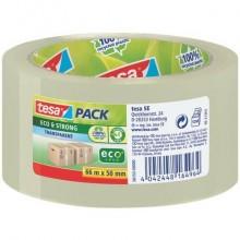 Nastro adesivo per la spedizione tesapack® eco&strong 50 mm x 66 m trasparente - 58153-00000-00