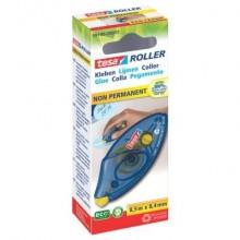 Colle roller tesa non permanente monouso ecoLogo® per cartone, foto, plastica o vetro trasparente - 59190-00005-03