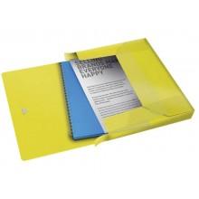 Cartella portaprogetti Esselte Maxi Colour'Ice polipropilene goffrato giallo A4 dorso 40mm - 626262