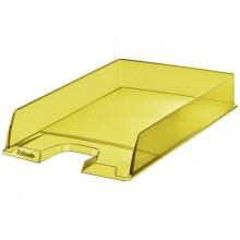 Vaschetta portacorrispondenza Esselte Colour'Ice polistirolo A4 giallo trasparente - 626272 (Conf.10)