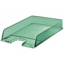 Vaschetta portacorrispondenza Esselte Colour'Ice polistirolo A4 verde trasparente - 626275 (Conf.10)