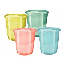 Cestino gettacarte Esselte Colour'Ice polistirene assortiti 14 litri 626291