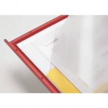 Pannello per leggìo da tavolo Q-Connect Quickfind rosso conf. 10 pezzi - KF04258