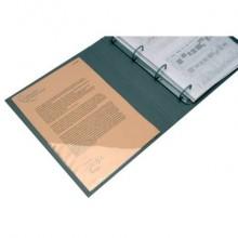 Tasche adesive triangolari Q-Connect trasparente 10x10 cm conf. da 10 - KF27034