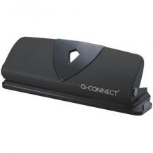 Perforatore a 4 fori Q-Connect nero 25 fogli KF01238
