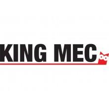 Classificatore alfanumerico con custodia King Mec MEC 12 dorso 7 cm blu 11304