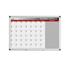 Planning Bi-office mensile  magnetico bianco 90x60 cm. bianco GA03267170