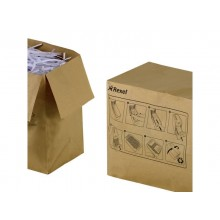 Sacchetti riciclabili per distruggidocumenti Rexel 50 L conf. da 50 - 2102441