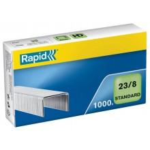 Punti metallici Rapid Standard 23/8  conf. da 1000 - 24869200