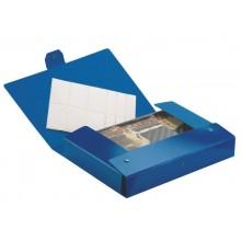 Cartelle portaprogetti Esselte C95 DELSO ORDER dorso 15 cm presspan lucido blu 25x35 cm - 390395050