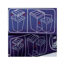 Sacchetti di plastica per distruggidocumenti Rexel AS 175 L conf. da 100 - 40095