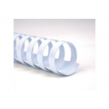 Dorsi plastici a 21 anelli GBC CombBind 6 mm a4 bianco conf da 100 dorsi - 4028193