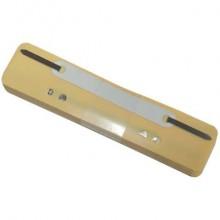 Pressini fermafogli adesivi Q-Connect 34x150 mm giallo conf. da 25 - 2012500210 (Conf.2)