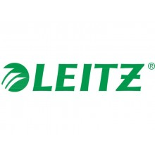 Cartellina ad aghi con clip Leitz in PVC A4 verde 41910055 (Conf.5)