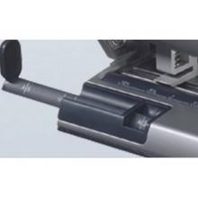 Perforatore a 4 fori a distanza variabile Leitz AKTO 30 fogli grigio metallizzato - 51140184