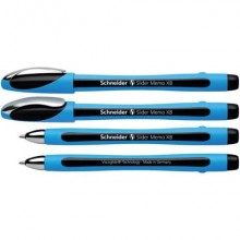 Penna a sfera Schneider Slider Memo tratto XB nero 150201