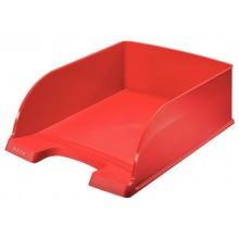 Vaschetta portacorrispondenza impilabile Leitz PLUS JUMBO in polistirolo A4 rosso 52330025 (Conf.4)