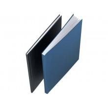 Copertina rigida 10-35 fogli Leitz impressBIND in cartone con dorso da 3,5 mm A4 blu  conf. da 10 - 73900035