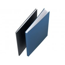 Copertina rigida max 106-140 fogli Leitz impressBIND in cartone con dorso da 14 mm A4 blu  conf. da 10 - 73930035