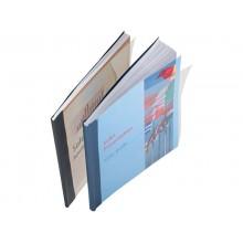 Copertina flessibile max 36-70 fogli Leitz impressBIND in PPL con dorso da 7 mm A4 nero  conf. da 10 - 73990095