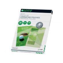 Pouches per plastificatrici Leitz iLam con UDT 2x80 µm in EVA A4 21,6x30,3 cm Conf. 100 pezzi - 74780000
