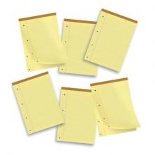 Blocco punto metallico 50 fogli Pigna Legal A4 giallo confezione da 10 pezzi - 0514394RM