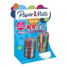 Penne Paper Mate InkJoy Gel 600 Stick M 0,7 mm assortiti espositore da 60 pezzi - 2036161