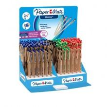 Penne a sfera stick Paper Mate Replay cancellabile M 1 mm assortiti espositore da 168 - S0181053