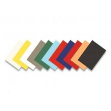 Copertine per rilegatrici FELLOWES Delta goffrate 21x29,8 cm 250 g/m² rosso conf. 100 pezzi - 5370305