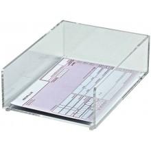 Dispenser MAUL porta blocco appunti acrilico trasparente DIN A6 1953005