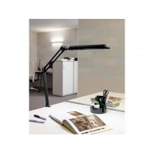 Lampada da scrivania MAUL a risparmio energetico MAULaltantic con morsetto metallo nero G23 11 W - 8213590