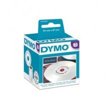 Rotolo da 160 etichette tonde Dymo LabelWriter CD/DVD Ø 57 mm bianco S0719250