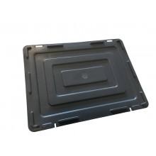 Coperchio per contenitore Viso 30x40x2 cm grigio E4301