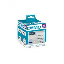 Rotolo da 220 etichette Dymo LabelWriter Cartelle sospese 50x12 mm bianco S0722460
