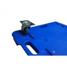 Piattaforma rotante in PPL Viso 600x400x115 mm blu RP601