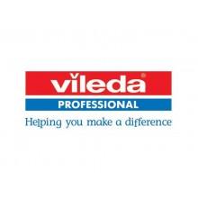 Contenitore portarifiuti 70 L Vileda Professional Geo in PPL 73x29x49 cm acciaio/nero - 137661