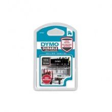 Nastro per etichettatrici Dymo D1 Durable 12 mm x 3 m bianco/nero 1978365