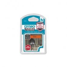 Nastro per etichettatrici Dymo D1 Durable 12 mm x 5,5 m nero/arancio 1978367
