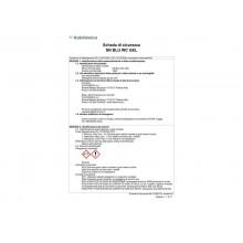 Detergente disincrostante SANITEC Blu WC Gel 750 ml - 1940