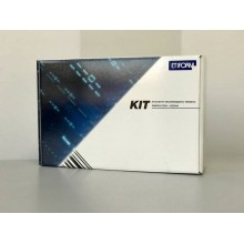 Kit 3450 etichette + 2 ribbon - 76x40 mm ETIFORM in carta vellum Etichette bianche - K076X040X050R1