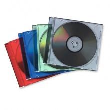 Porta CD e DVD FELLOWES jewel case slim  conf.25 - 98317