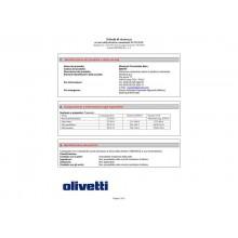 Nastro correggibile Olivetti nero  80670