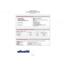 Nastro correggibile Olivetti nero  82025